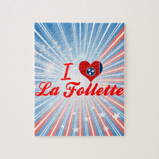 I Love La Follette Tennessee Jigsaw Puzzles