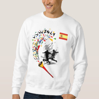 I love La Furia Roja Sweatshirt