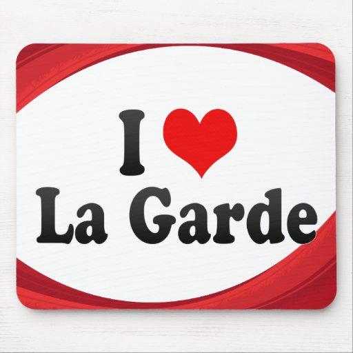 I Love La Garde, France Mousepads