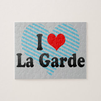 I Love La Garde France Jigsaw Puzzle