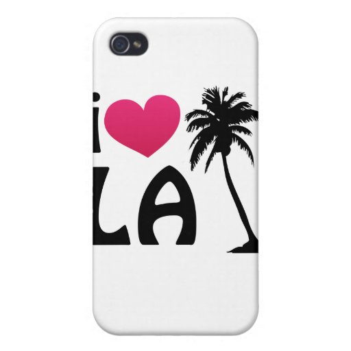 I Love LA Gifts and Apparel Cover For iPhone 4