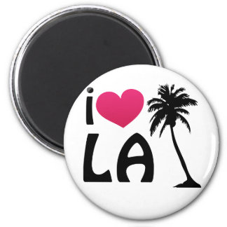 I Love LA Gifts and Apparel Refrigerator Magnet