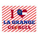 I Love La Grange, Georgia Postcard