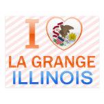 I Love La Grange, IL Postcard