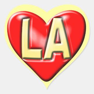 I Love LA Heart Sticker