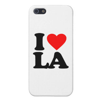 I LOVE LA CASES FOR iPhone 5