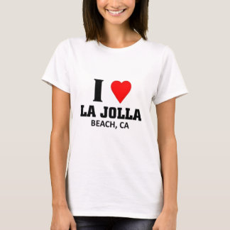 I love La Jolla beach T-Shirt