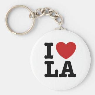 I Love LA Key Chains