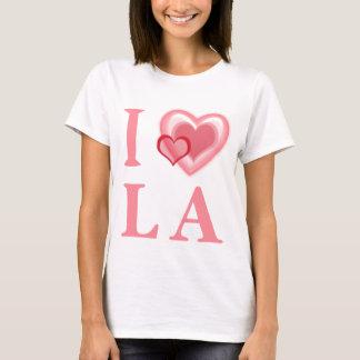 I Love LA Ladies Baby Doll T-Shirt