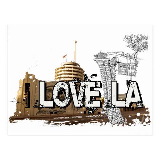 I love LA - Los Angeles #1 Postcard