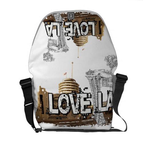 I love LA - Los Angeles messenger bag rickshawmessengerbag