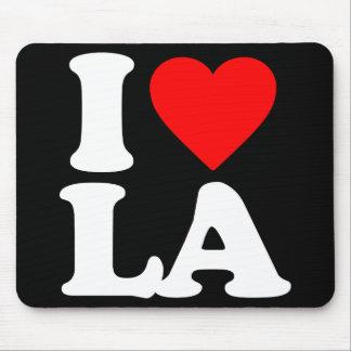 I LOVE LA MOUSE PAD