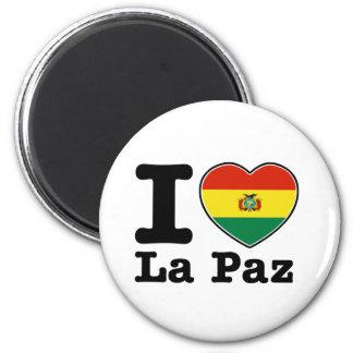 I love La Paz Magnet