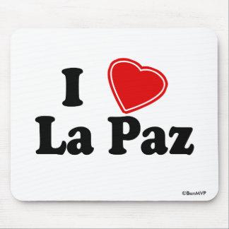 I Love La Paz Mousepad