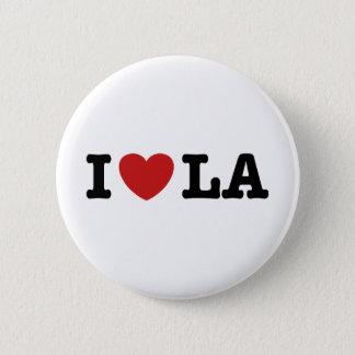 I Love LA Pinback Button
