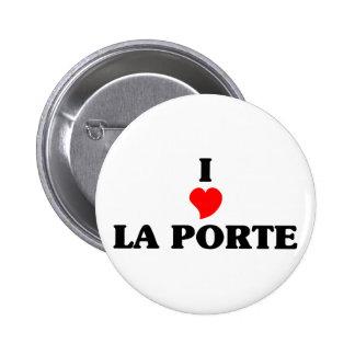 I love La Porte 2 Inch Round Button