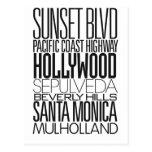 I Love LA Post Cards