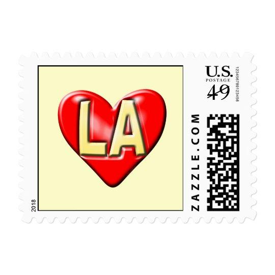 I Love LA Postage