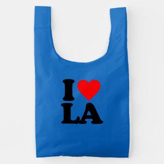 I LOVE LA REUSABLE BAG