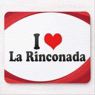 I Love La Rinconada, Spain Mouse Pad