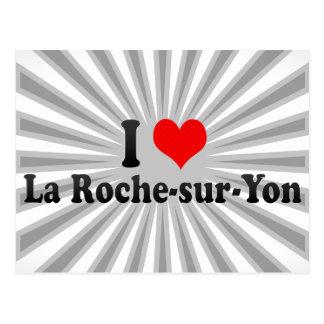 I Love La Roche-sur-Yon, France Postcard