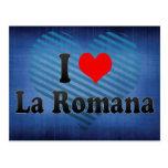 I Love La Romana, Dominican Republic Postcard