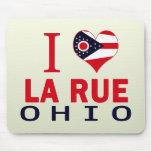 I love La Rue, Ohio Mouse Pad