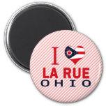 I love La Rue, Ohio Refrigerator Magnet