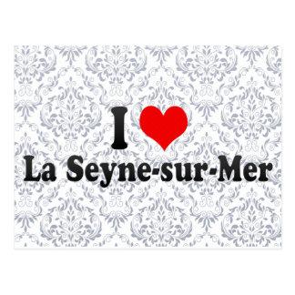 I Love La Seyne-sur-Mer France Post Cards