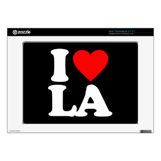 I LOVE LA SKINS FOR ACER CHROMEBOOK