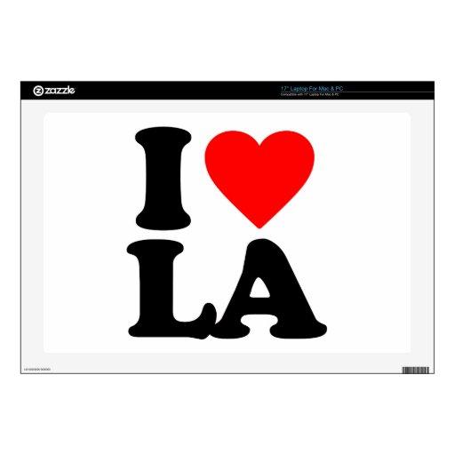I LOVE LA SKIN FOR LAPTOP
