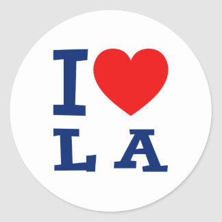 I love LA Sticker