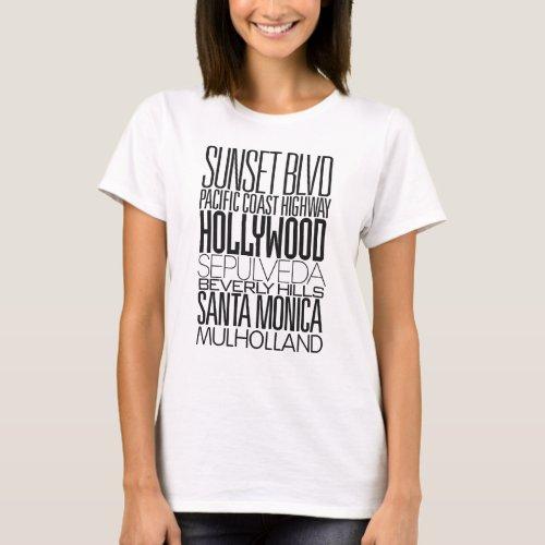 I Love LA T_Shirt