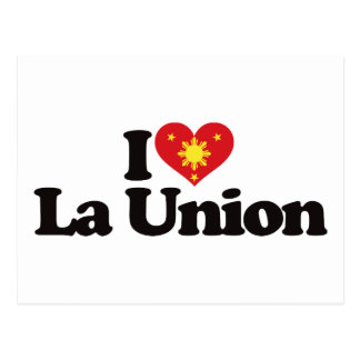 I Love La Union Postcard