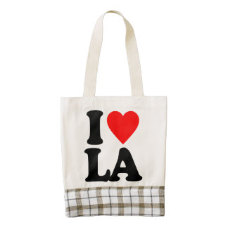 I LOVE LA ZAZZLE HEART TOTE BAG