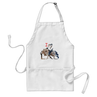 I love Lab Adult Apron