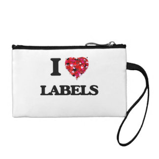 I Love Labels Coin Wallet