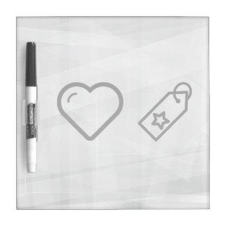 I Love Labels Dry-Erase Boards