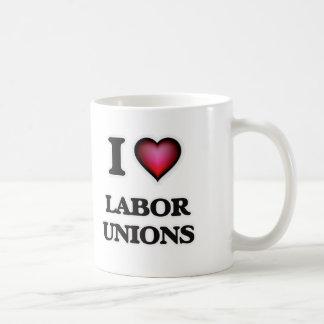 I Love Labor Unions Coffee Mug