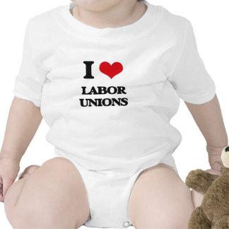 I Love Labor Unions Romper