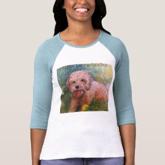 I love Labradoodles 3/4 sleeve t shirt