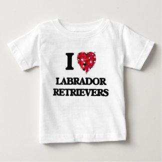 I love Labrador Retrievers Tshirts