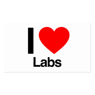 i love labs Double-Sided standard business cards (Pack of 100)