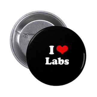I Love Labs Buttons