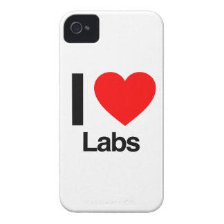 i love labs iPhone 4 cover