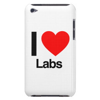 i love labs barely there iPod cover