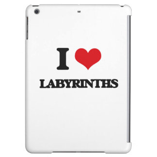 I Love Labyrinths Cover For iPad Air