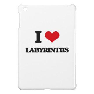 I Love Labyrinths iPad Mini Case