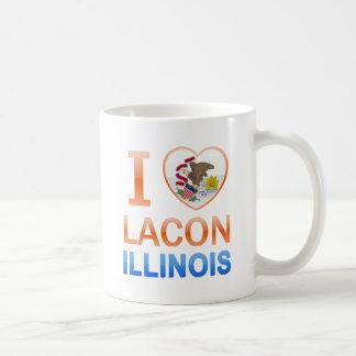 I Love Lacon, IL Classic White Coffee Mug