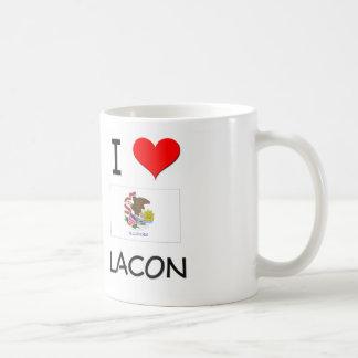 I Love LACON Illinois Classic White Coffee Mug